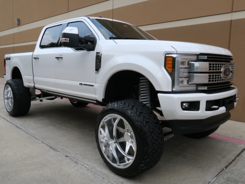 2017 ford f 250 platinum crew cab 10lifted short bed 67l 4wd